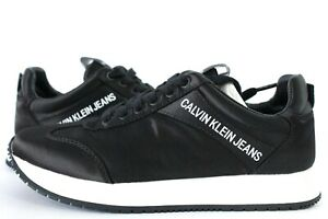Calvin Klein Jeans Jill Low Top Womens Trainers UK Size 3