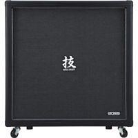 "BOSS Waza Cab 412 4x12"" Guitar Amp Extension Speaker Cabinet Cab"