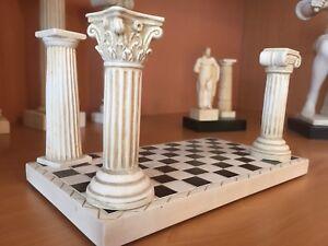 Masonic pillar set with carpet