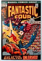 Fantastic Four #122 FN+ 1972 Marvel Comic Key Cover Silver Surfer vs Galactus