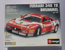 Ferrari 348 tb Challenge Brummel #2 rot Bburago 5129 Metal Kit Bausatz 1/24 NEU