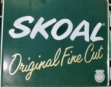 "NEW SKOAL BANDITS  Tobacco 2006 Embossed Advertising Metal Tin Sign 18/"" x 11.75/"""