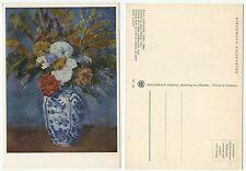 01941 - Paul Cezanne: Dahlien in einer Delfter Vase - alte Ansichtskarte