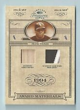FRANK THOMAS 2004 TIMELESS TREASURES AWARD MATERIALS BAT 4 COLOR PATCH /19
