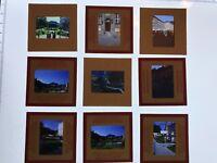 Lot of 9 Salzburg Austria Tourist 1950s Kodachrome Vintage Slides