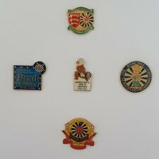 More details for group of 5 vintage round table (rtbi) area chairman pin badges