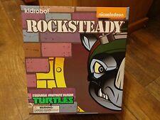 """2014 Kidrobot-Teenage Munant Ninja Turtles-7"""" Rocksteady Figure (New)"""