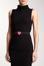 NWT M Missoni Womens Heart Buckle Stretch Belt $216