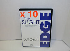 x10 The Slight Edge: Turning Simple Disciplines Into Massive Success Audio CD