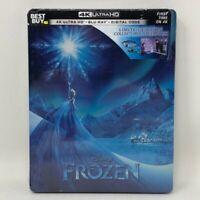 Frozen Steelbook bluray/4K (also Includes Digital Copy) - Brand New