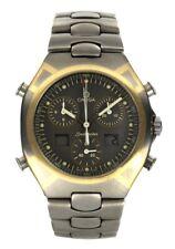 Omega Seamaster Polaris Titan/Gold Chronograph-Herrenluxusuhr