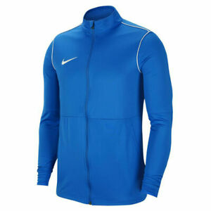 Nike Dry Park 20 Knit Men Blue Warm Up Top Training Sports Jacket BV6885-463