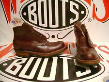 "White's Boots Semi-Dress oxblood 5"" sz 8.5 D"
