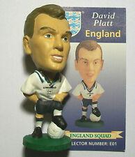 Prostars ENGLAND (HOME) PLATT, E01 Loose With Card LWC - EURO 1996 Kit
