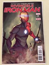 Invincible Iron Man #3! (2017) 1st In Story Appearance of Riri in costume!