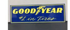 Tire Garage Good Year Racing Team Vintage Reproduction Sign