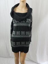 Giovanna Womens Sweater Cowl Neck Dress No 94290 Long Sleeve Extravagant Size LG