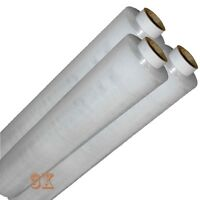 3 X roll CLEAR PALLET STANDER STRETCH SHRINK WRAP 17Mu, 400mm WIDE, LENGTH 250M