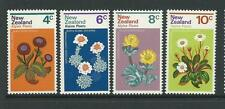 1972 Alpine Plants  Set of 4 complete MNH/MUH as Issued