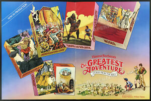 GREATEST ADVENTURE_Stories from the Bible__1985 Trade AD / poster__Hanna-Barbera