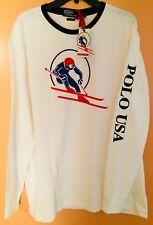 NWT Polo Ralph Lauren Downhill Circle Skier T Shirt XL Hi Tech  P-wing 1992