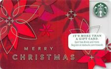 Starbucks Merry Christmas 2014 Gift Card Collectible NEW NV - Pin Covered
