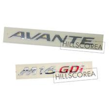 HYUNDAI ELANTRA / AVANTE 2011-2016 Genuine OEM AVANTE + M16GDi Emblem 2EA Set