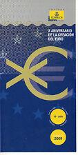 España X Aniversario de la Creación del Euro año 2009 (CV-440)