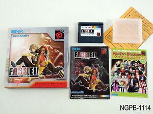 Faselei Neo Geo Pocket Japanese Import NGP Sacnoth Nautilius Japan US Seller