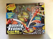 Brand New Bonka Zonks Spider-man Stackrobatic Stunt Set Marvel