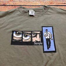 90s VTG SIMPLE SHOES SKATEBOARD Logo T Shirt Graphic SKATEBOARDING Peralta Vans