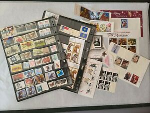 US Stamps Lot #8 Unused Stamps Mid 20th Century - Modern Day