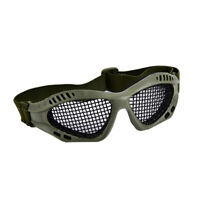 Outdoor Paintball Goggle Hunting Airsoft Metal Mesh Glasses Eye Protecti FU F1