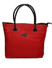 Giglio Italian Made Grain Real Leather Tote Hand Shoulder Bag 29x 35x 11cm