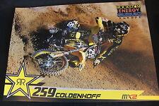 Poster Rockstar Suzuki RMZ-250 2014 #259 Glenn Coldenhoff (NED) MX2 (HW)