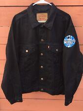 Levis 501 MTV Video Music Awards Black Denim Jacket Size Large