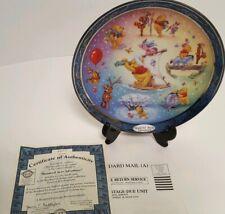 Disney Winnie The Pooh Hundred Acre Adventure 4th Issue BradfordExchange Plate