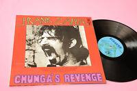 Frank Zappa LP CHUNGA'S Orig Italy 1971 MInt Unplayed Gatefold Deep Groove