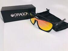 c852148fc1 DRAGON Gafas De Sol Dr CLASSY ION 005 Mate Negro con lentes de iones de  Naranja