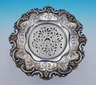 Sterling Silver Butter Dish Chased Pierced  2498 Made For Tiffany and Co  3402