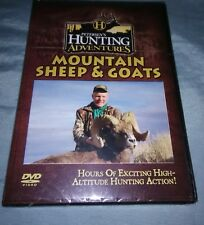 Petersen's hunting Adventures mountain sheep and goats Dvd