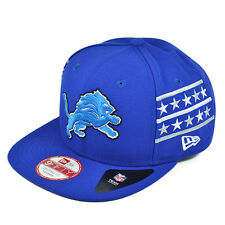 Detroit Lions FINE SIDE SNAPBACK 9Fifty New Era NFL Hat = OSFM