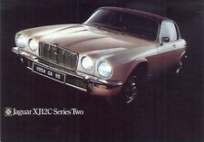 Jaguar XJ12C Series Two - Modern postcard by Vintage Ad Gallery