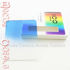 """Tianya TY 100mm x 133mm graduated blue color filter for Cokin Z Hitech 4x4"""""""