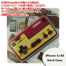 Homade Retro Nintendo FAMICOM Controller Design iPhone 4S/4 Hard Case