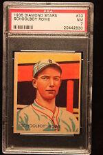 "1935 Diamond Stars #33 Schoolboy Rowe PSA 7 NM ""Rare"""