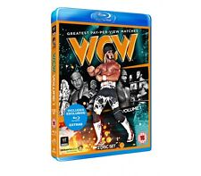 Official WWE - WCW'S Greatest PPV Matches Volume 1 Blu-Ray - 2 disc