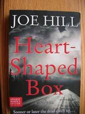 Joe Hill Heart Shaped Box 1st SIGNED ARC unread