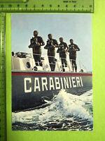 CARTOLINA CARABINIERI SUBACQUEI - 14246