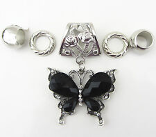 Fashion DIY Necklace Jewelry Scarf  Butterfly  pendant set Charms @+10